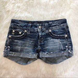Miss Me Denim Shorts From The Buckle 25